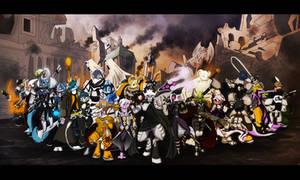 Dreamkeepers Halloween 2012 by Sw1tchbl4de