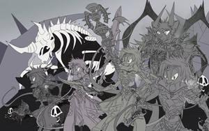 DK Halloween contest 2018 by Sw1tchbl4de