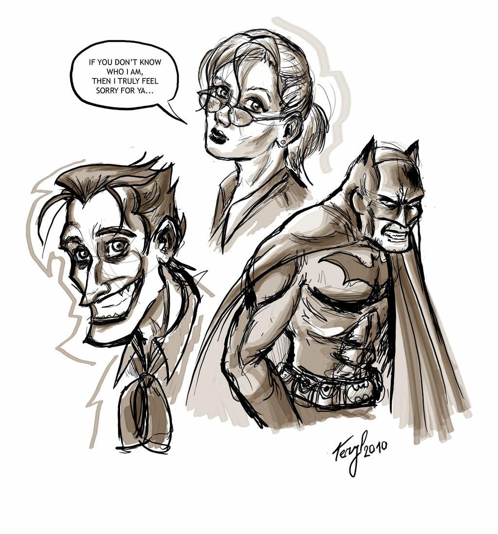 My favourite TRIO - sketches by xTERYLx