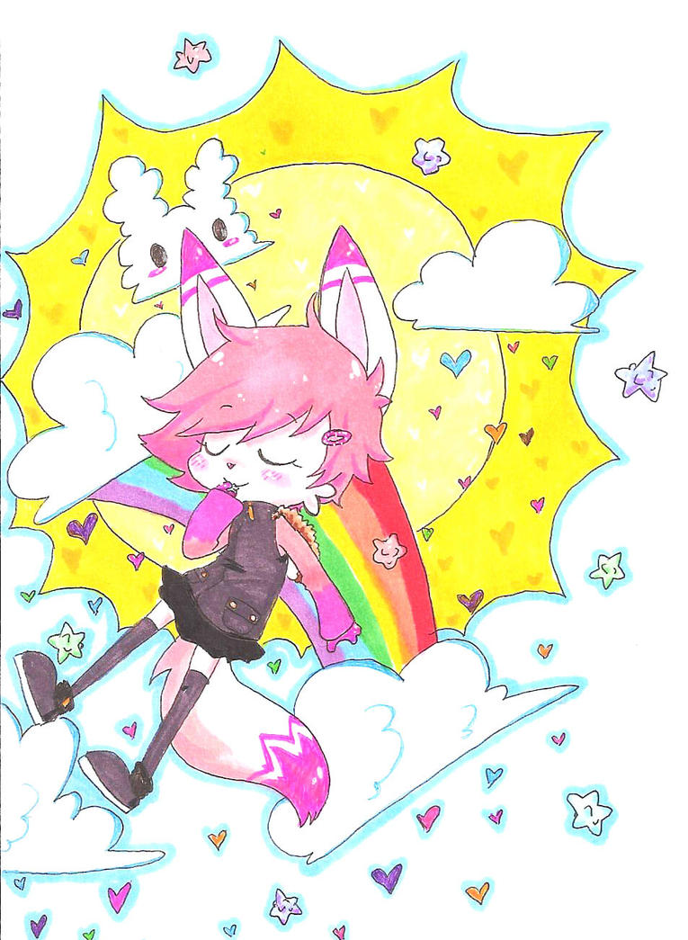 Fluffy feelings by Niji-Cookies