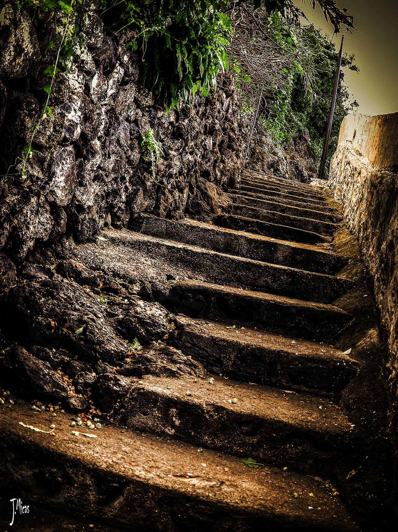 Stairs to somewhere