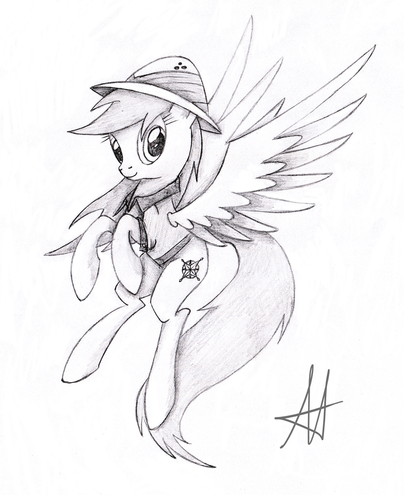 My Little Pony Daring Do Coloring