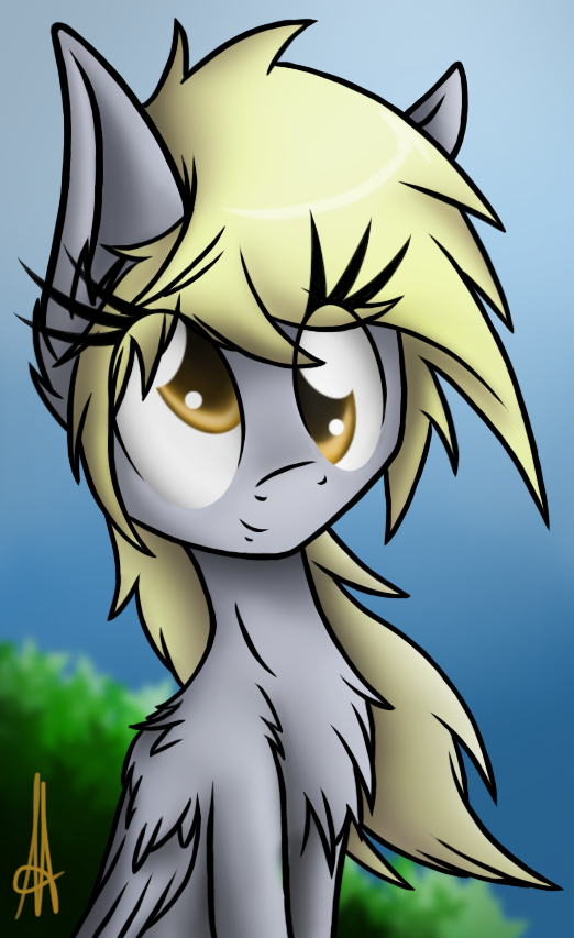 [MLP] Smiling Derpy by Ardas91
