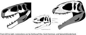 Random Impressive Large Theropod Skulls