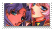 Utena and Anthy stamp by leofurry
