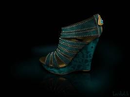 Jasmine's Shoe - Disney Sole by becsketch