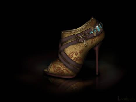 Pocahontas Shoe - Disney Sole