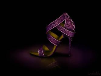 Rapunzel's Shoe - Disney Sole by becsketch