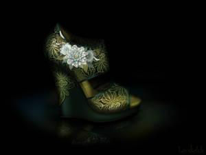 Tiana's Shoe - Disney Sole