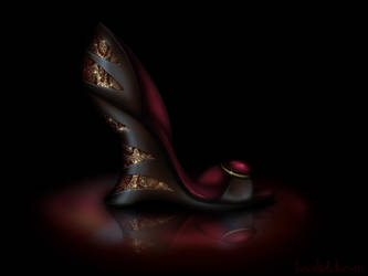Jafar Inspired Shoe - Disney Sole by becsketch