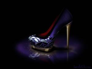 Evil Queen Inspired Shoe - Disney Sole