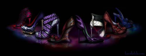 Dark Sole - Disney Villain Inspired Shoes