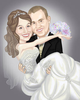 Wedding Caricature #4