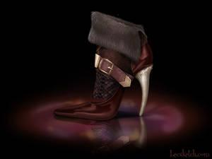 Gaston Inspired Shoe - Disney Sole