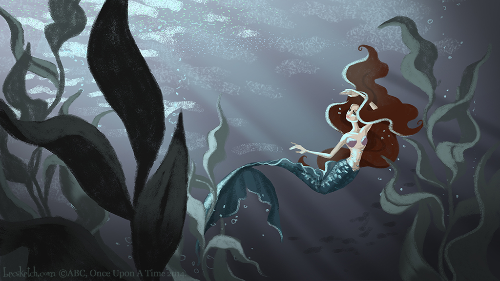 OUAT - The Tale of Ariel - Underwater by becsketch