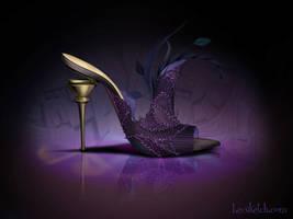 Yzma Inspired Shoe - Disney Sole