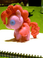 mini young filly Pinkie Pie plushie by haiban