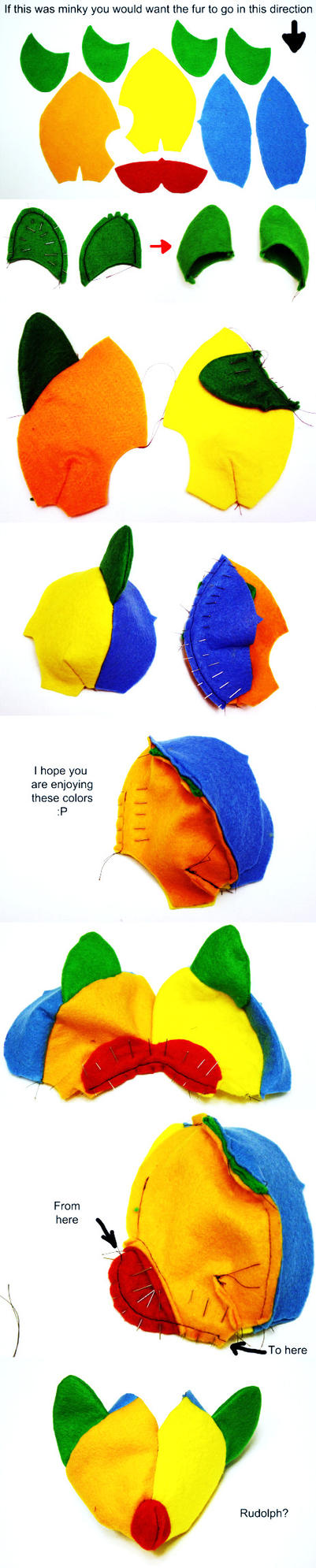 Pony pattern Tutorial  part 1 by haiban