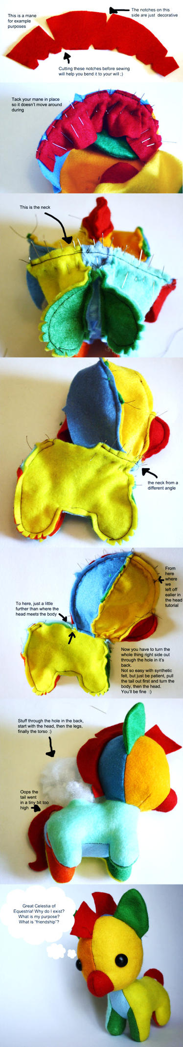 Pony pattern Tutorial  part 3 by haiban