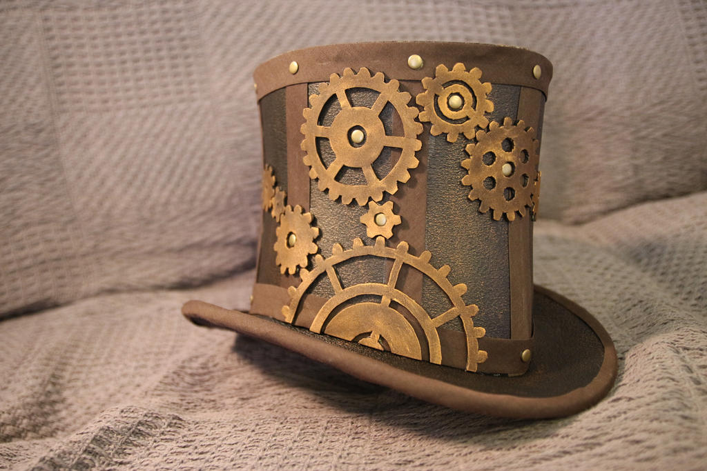 Exceptionnel Steampunk Top Hat - Time Traveler - 3 by Lena-Giet on DeviantArt TC07
