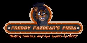 [Fnaf] Freddy Fazbear's Pizza Logo