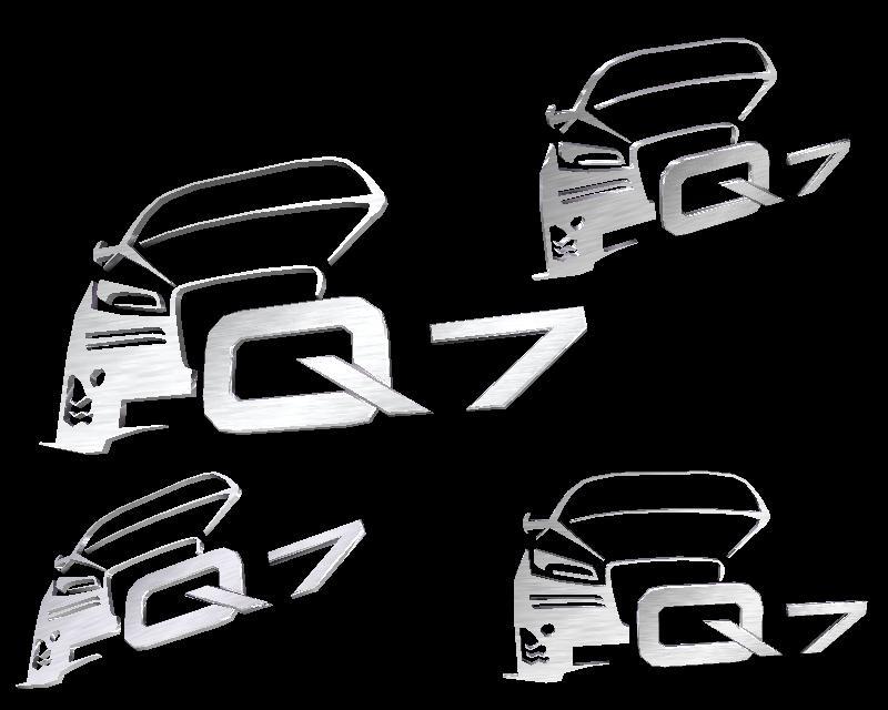 Audi Q7 Logo By Nfsmemphis On Deviantart