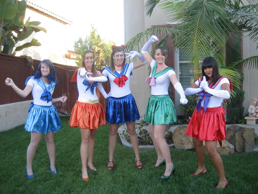 Sailor Scouts Cosplay by raaawhr ... & Sailor Scouts Cosplay by raaawhr on DeviantArt