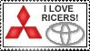 I LOVE RICERS by M3T4L-4-L1F3