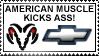AMERICAN MUSCLE KICKS ASS by M3T4L-4-L1F3