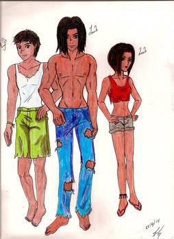 Seth, Jacob y Leah