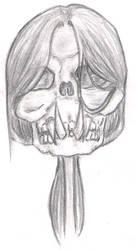 Demon skull by Hisamitsu