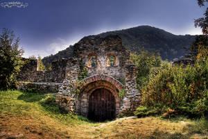 old gate by Wintertale-eu