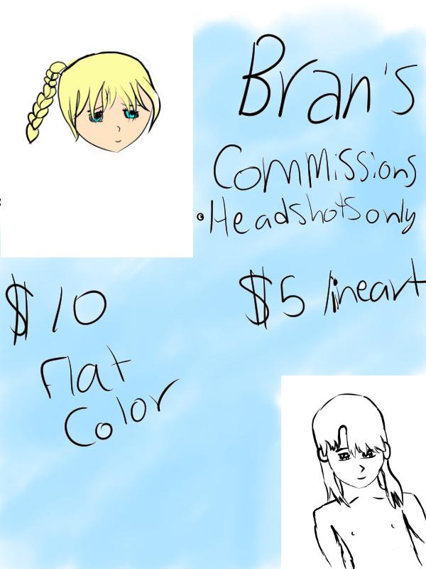 Commissionsheet by Branfox