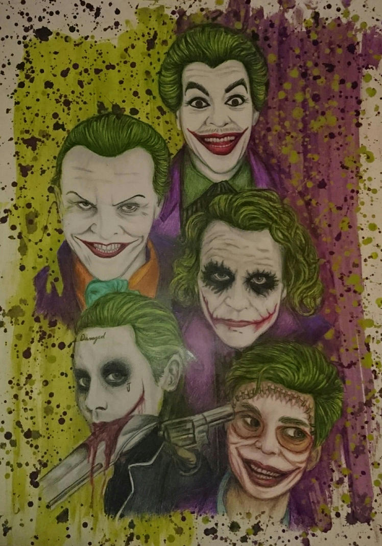 The Evolution of the Joker Finished by PennyWise3368
