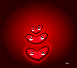 Heart kawaii by Nehimy