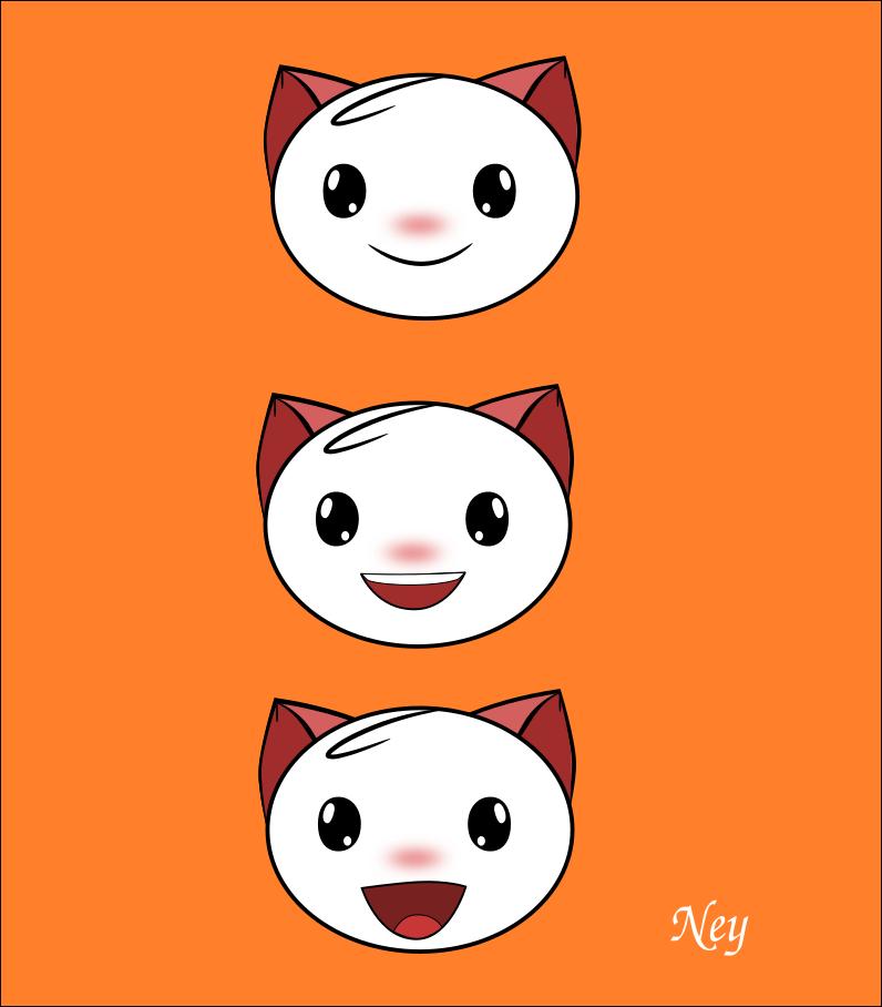 Emoji Cat by Nehimy