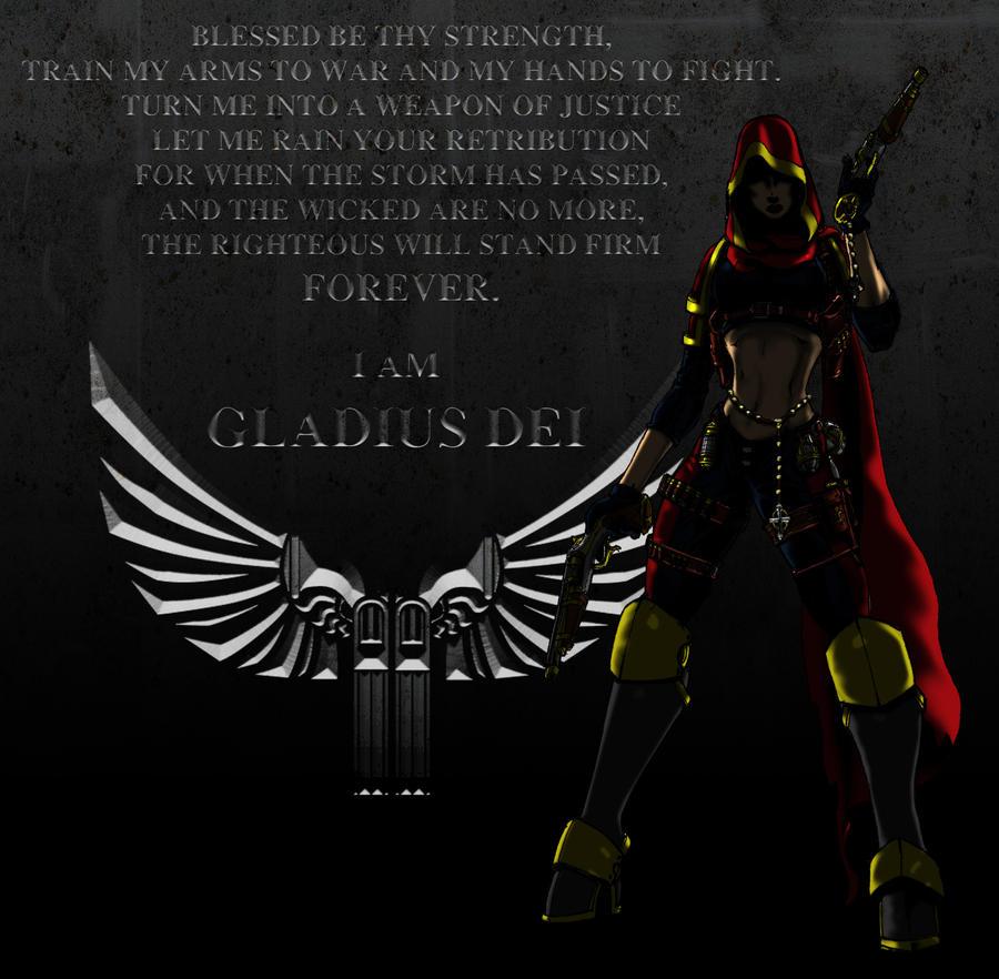 I am Gladius Dei by Dalilean