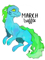 Marine Monsters March Raffle by Majestic-Pizza