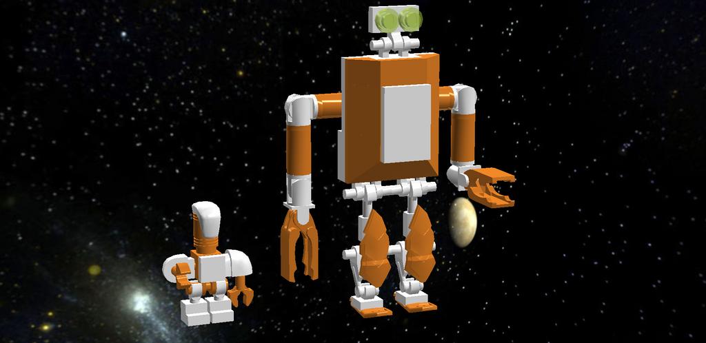 Phoenix Legion Cargo Droids by DarthSithari