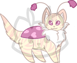 Mothcat ID #189 by Misaverse