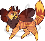Mothcat ID #423 by Misaverse