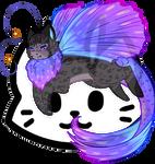 Mothcat ID #597 by Misaverse