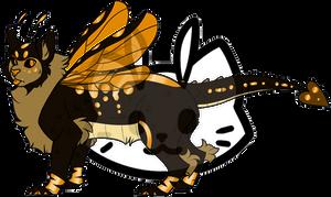 Mothcat ID #1410 by Misaverse