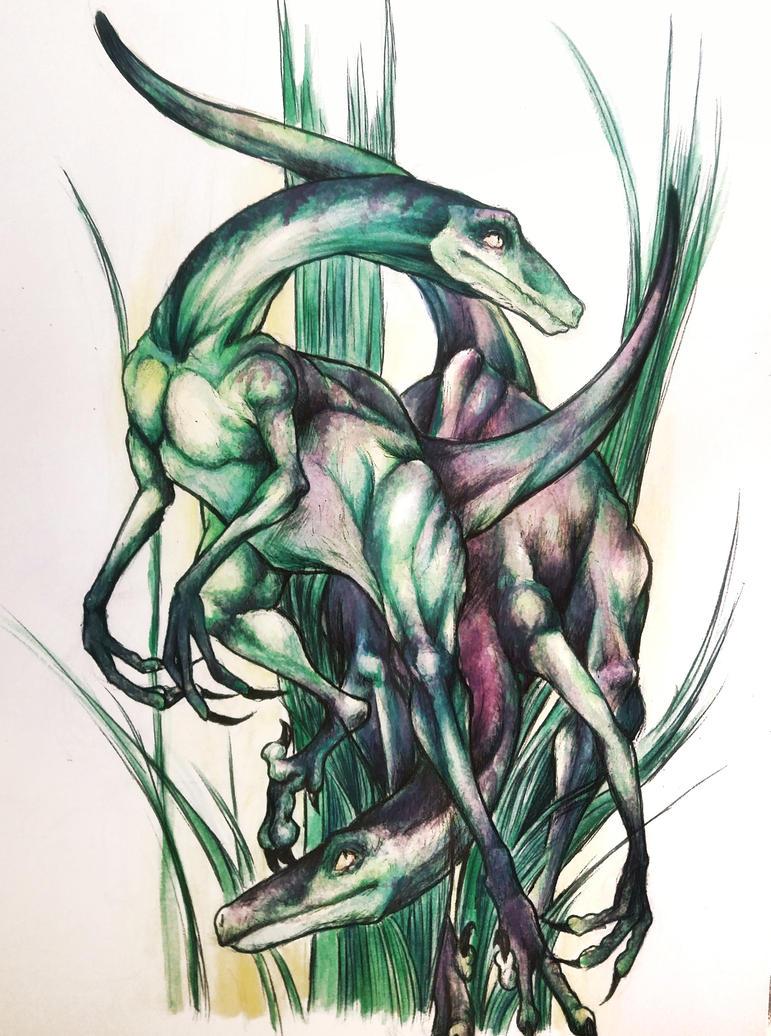 Dino by Oggyli