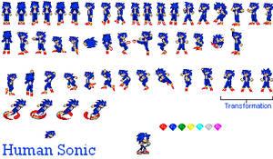 Human Sonic Sprite