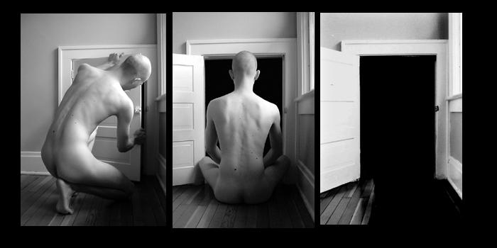 threshold triptych