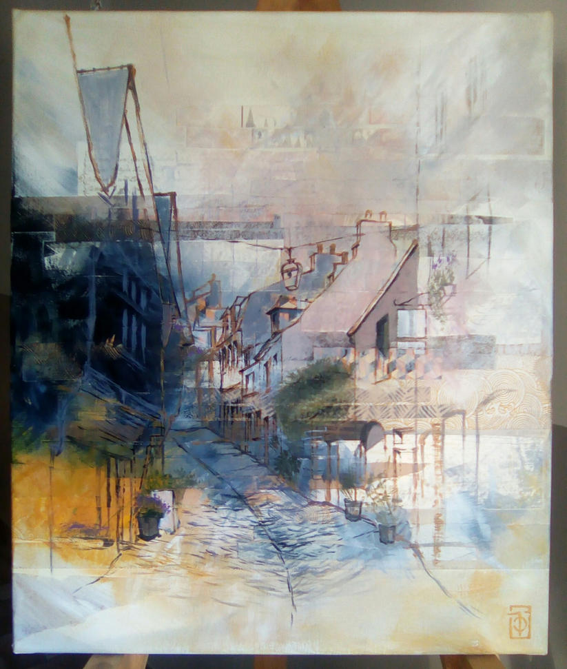 Rue du Petit Fort by talline-occrerou