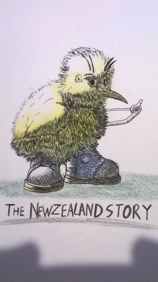 Kiwi from NEWZEALAND STORY by ChrisMCampbell