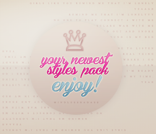 Girls Like You - Styles Pack!