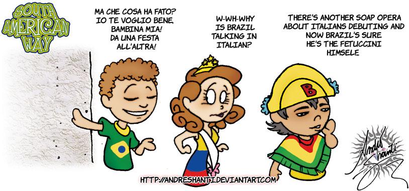 Parla Italiano?  - In English by andreshanti